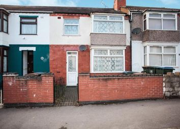 Thumbnail 3 bed terraced house for sale in Fisher Road, Foleshill, Coventry, West Midlands