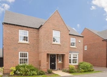 Thumbnail 4 bed detached house for sale in Slatewalk Way, Leicester