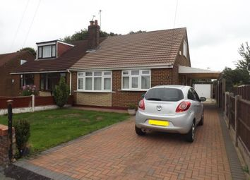 Thumbnail 3 bed bungalow for sale in Burgess Avenue, Warrington, Cheshire