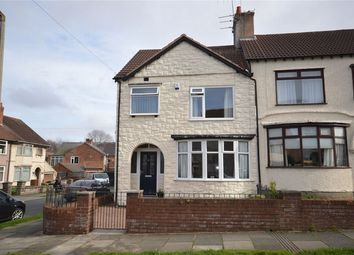 Thumbnail 3 bed end terrace house for sale in Stanbury Avenue, Bebington, Merseyside