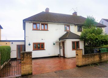 Thumbnail 3 bed semi-detached house for sale in Harris Avenue, St Mellons
