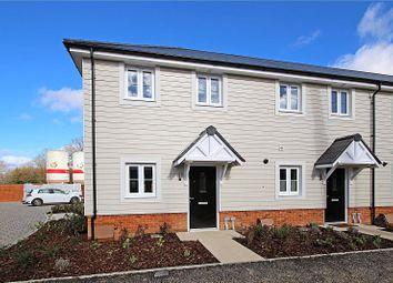 Thumbnail 2 bedroom end terrace house to rent in Marjoram Avenue, Cranleigh, Surrey