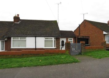 Thumbnail 2 bedroom semi-detached bungalow for sale in Ashfield Avenue, Raunds, Wellingborough