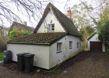Thumbnail 2 bed cottage for sale in Chapel Lane, Wortham, Diss