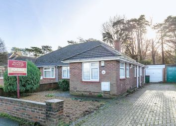 Thumbnail 3 bed semi-detached bungalow for sale in Albany Road, West Green, Crawley, West Sussex