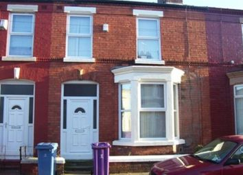 Thumbnail 3 bedroom property to rent in Alderson Road, Wavertree, Liverpool