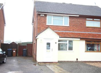 Thumbnail 2 bed semi-detached house for sale in Tweedside Close, Hinckley