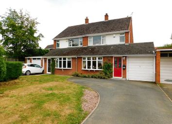 Thumbnail 3 bed semi-detached house for sale in Burford Road, Wheaton Aston, Stafford