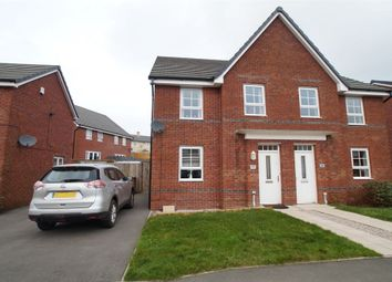 Thumbnail 4 bed semi-detached house for sale in Weavers Avenue, Frizington
