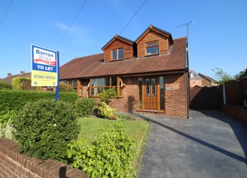Thumbnail 3 bed semi-detached bungalow to rent in Melford Drive, Billinge, Wigan