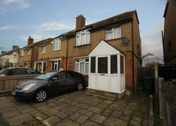Thumbnail 3 bed semi-detached house for sale in Walton Road, West Molesey, Surrey