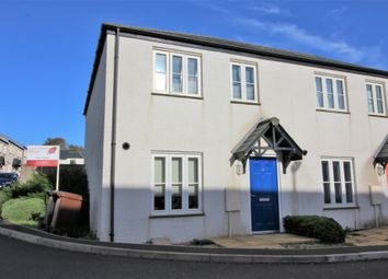 Thumbnail 3 bed semi-detached house for sale in Tappers Lane, Yealmpton, Plymouth