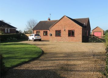 Thumbnail 3 bed detached bungalow for sale in Low Road, Stow Bridge, King's Lynn