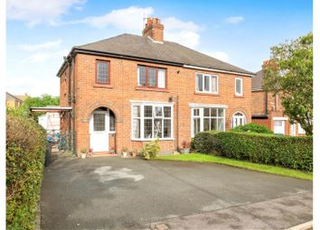 Thumbnail 3 bed semi-detached house for sale in Stanfield Crescent, Cheadle, Stoke-On-Trent