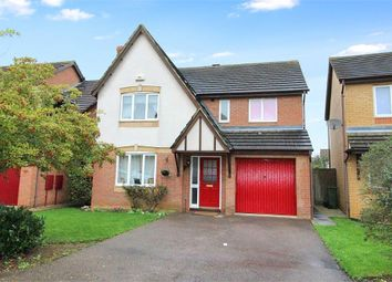 Thumbnail 4 bed detached house for sale in Pennycress Way, Newport Pagnell