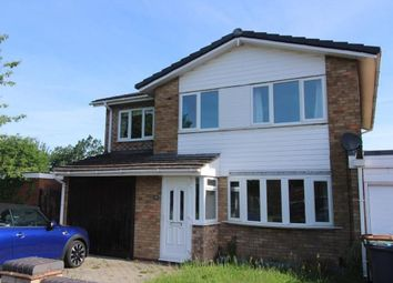 Thumbnail 4 bed detached house for sale in Wheeley Road, Solihull