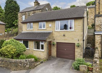 Thumbnail 4 bed detached house for sale in Low Spring Road, Thwaites Brow, Keighley, West Yorkshire