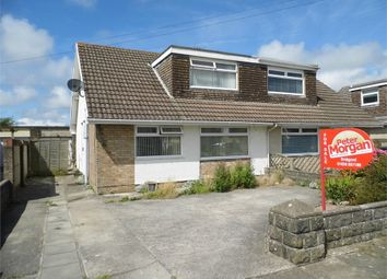 Thumbnail 2 bed semi-detached bungalow for sale in Long Acre Drive, Nottage, Porthcawl, Mid Glamorgan