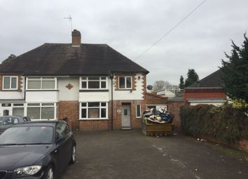 Thumbnail 3 bed semi-detached house to rent in Church Road, Birmingham