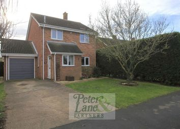 Thumbnail 3 bed detached house for sale in Church Close, Stilton, Peterborough, Cambridgeshire