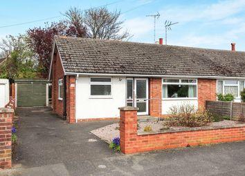 Thumbnail 2 bed semi-detached bungalow for sale in Salisbury Road, Werrington, Peterborough