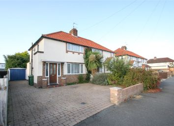 Thumbnail 2 bed semi-detached house for sale in Hazel Grove, Staines-Upon-Thames, Surrey