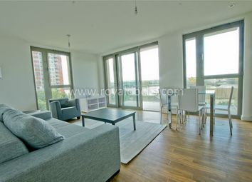 Thumbnail 2 bed flat to rent in Waterside Heights, Booth Road, London