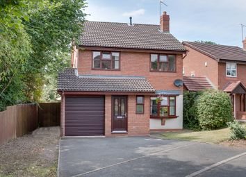 Thumbnail 4 bed detached house for sale in Earls Close, Webheath, Redditch