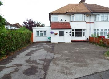 Thumbnail 4 bed semi-detached house for sale in Courtlands Avenue, Langley, Slough