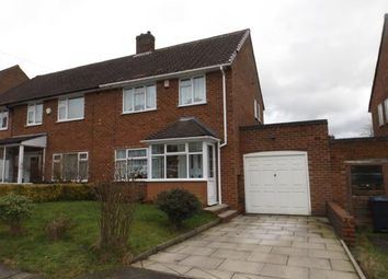Thumbnail Semi-detached house for sale in Wirral Road, Northfield, Birmingham, West Midlands
