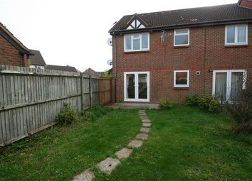 Thumbnail 1 bed end terrace house to rent in Marshall Gardens, Basingstoke