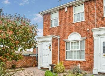 Thumbnail 2 bed end terrace house for sale in Salcombe Close, Wigston, Leicester