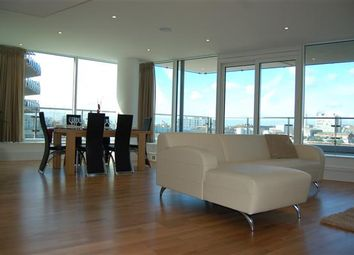 Thumbnail 3 bedroom flat to rent in Ensign House, Battersea Reach, London