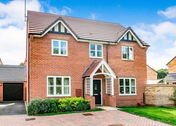 Thumbnail 4 bedroom detached house for sale in Harcourt Way, Hunsbury Hill, Northampton, Northamptonshire