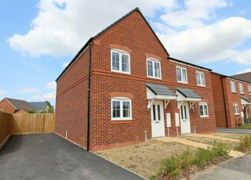 Thumbnail 3 bed semi-detached house for sale in Weaverbrook Way, Marbury Meadows, Nantwich