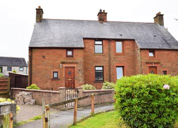 Thumbnail 3 bedroom semi-detached house for sale in 28 Addison Place, Annan, Dumfries & Galloway