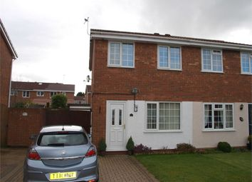 Thumbnail 2 bed semi-detached house for sale in Birches Close, Stretton, Burton-On-Trent, Staffordshire