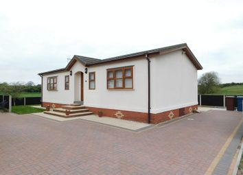 Thumbnail 2 bed mobile/park home for sale in Castle Grange Park, Doxey, Stafford