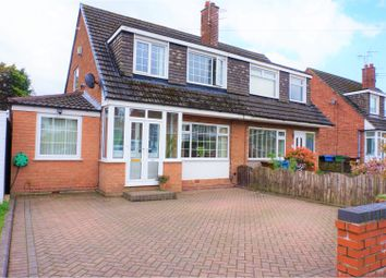 Thumbnail 3 bed semi-detached house for sale in Penrhyn Crescent, Hazel Grove