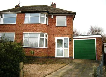 Thumbnail 3 bed semi-detached house to rent in Andrew Road, Anstey, Leicester
