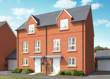 "Thumbnail 3 bed town house for sale in ""The Haywood"" at Boorley Green, Winchester Road, Botley, Southampton, Botley"