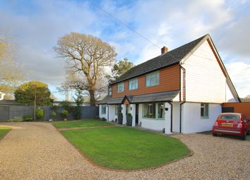 Thumbnail 4 bedroom detached house for sale in Silver Street, Sway, Lymington, Hampshire