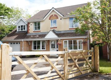 Thumbnail 5 bed detached house for sale in Cae Castell, Loughor