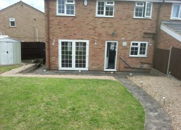 Thumbnail 3 bed town house to rent in Gallywood Drive, Leicester