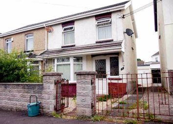 Thumbnail 3 bed semi-detached house to rent in St. Pauls Terrace, Garden Village, Swansea
