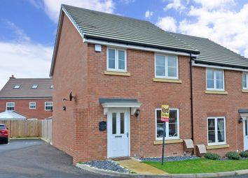 Thumbnail 3 bed semi-detached house to rent in Moorhen Road, Maidstone
