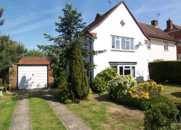 Thumbnail 3 bed semi-detached house to rent in Upland Way, Epsom