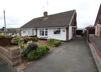 Thumbnail Semi-detached bungalow for sale in Marlborough Crescent, Stapenhill, Burton-On-Trent
