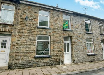 Thumbnail 3 bed terraced house for sale in Wayne Street, Pontypridd