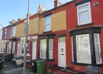 Thumbnail 2 bedroom terraced house for sale in Yelverton Road, Tranmere, Birkenhead